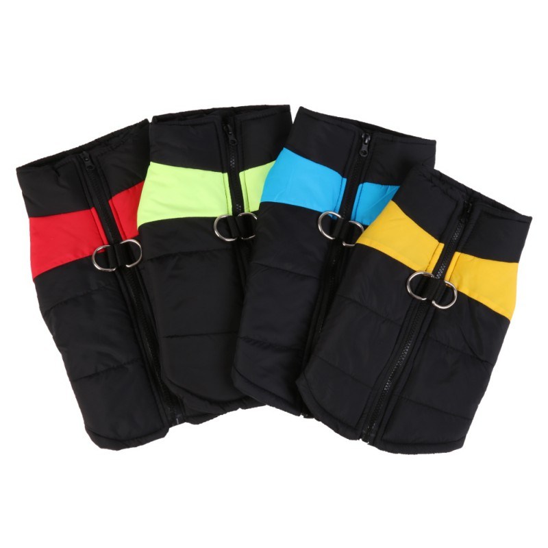 Waterproof Pet Dog Puppy Vest Jacket Chihuahua Clothing Warm Winter Dog Clothes Coat For Small Medium Large Dogs 4 Colors S-4xl
