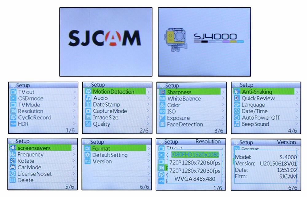 original sjcam sj4000 1080p hd action camera 10