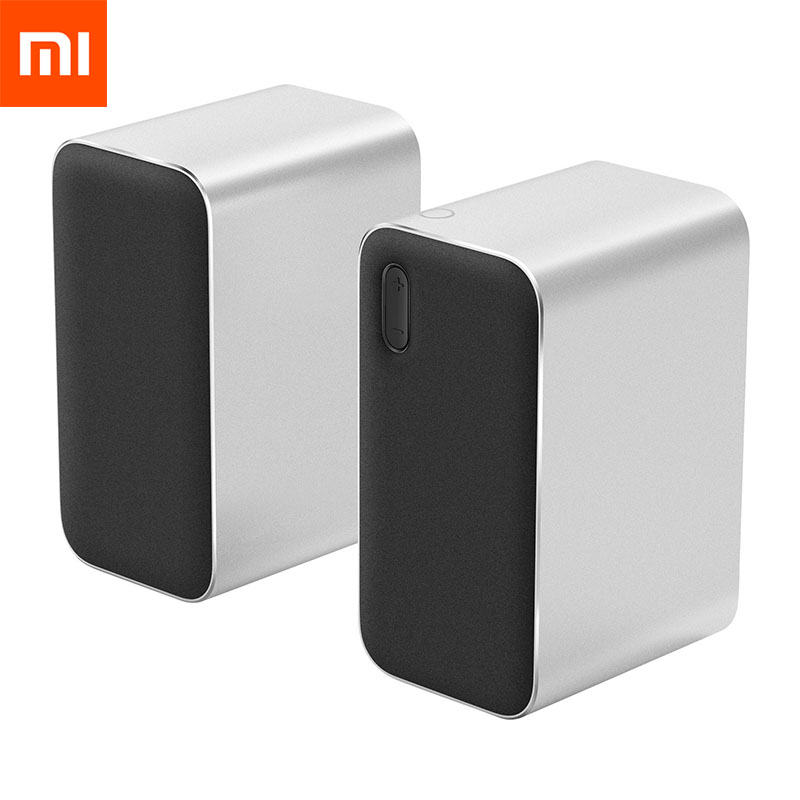 Xiaomi Bluetooth Speaker Computer Microphone Wireless Portable Stereo Speaker Aux LED Indicator 12W 2 4GHz for