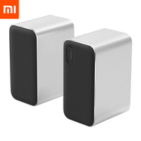 Xiaomi Bluetooth Speaker Computer Microphone Wireless Portable Stereo Speaker Aux LED Indicator 12W 2.4GHz for PC Tablet Phones0