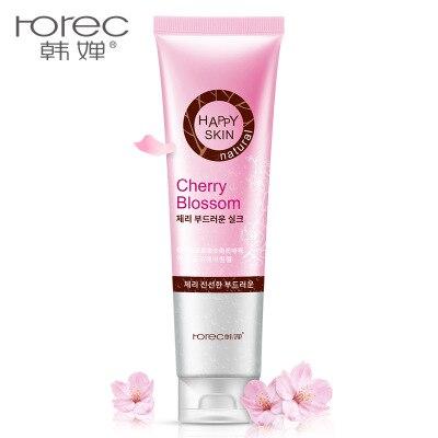 2018 Horec cherry fresh soft exfoliating gel rub mud bath treasure fragrant cleansing exfoliating shower gel