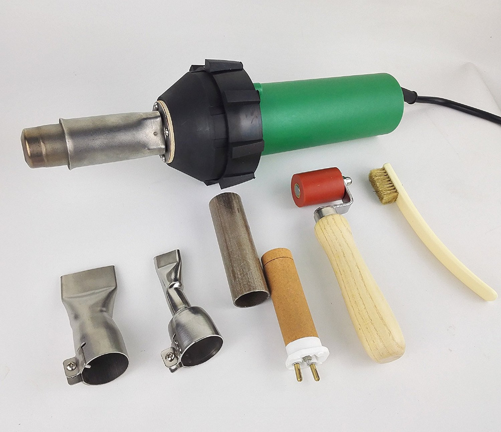 UK STOCK 1600W Professional Hot Air Equipment Hot Blast Torch Overlap Air Welding Gun Welder Pistol Tool Hot Air Gun banner ems dhl fast shipping 230v 3000w heat element for for heat gun handheld hot air plastic welder gun plastic welder accessories