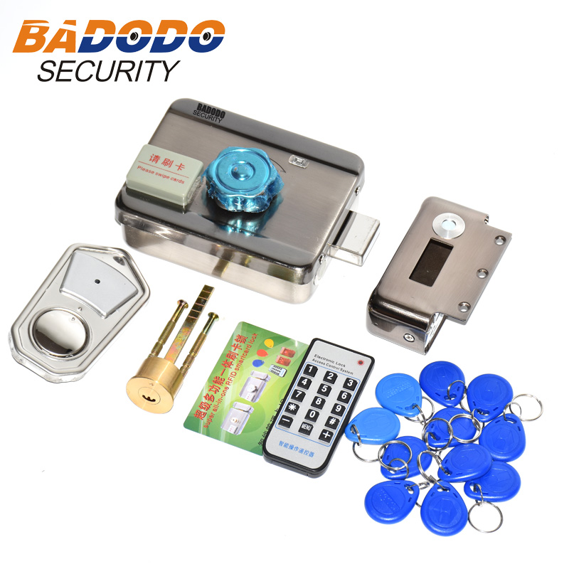 2 Or 10 Tags Door Access Control System Key Electronic Door Lock Swipe Card LOCK Lock Key Swipe Locks 1000Users