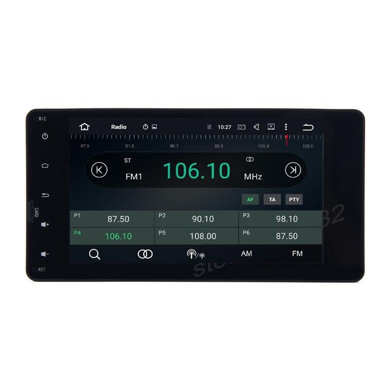 Octa core px5 Android 8.0 car radio GPS player for mitsubish lancer Montero outlander ASX pajero with 4G RAM wifi 4g usb
