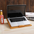 Freya lazy bamboo desk folding notebook wood table tablet comter support for mobile phone radiation FREE SHIPPING