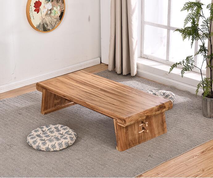 Античная Gongfu деревянный стол прямоугольник 80X50 см азиатский мебель деревянная татами стол для Чай, кофе в Гостиная китайский Чай Таблица