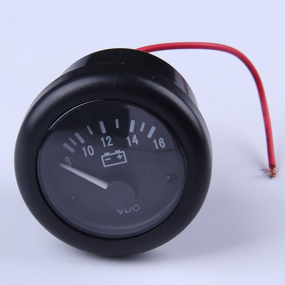 12V VDO Voltage Gauge For Genset Meter size 52mm