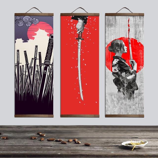 peinture-japonaise-art-asiatique-tableau-samourai