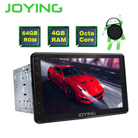 JOYING 4GB+64GB 2din Car Radio HD 8'' Touch Screen Android 8.0 Universal Octa Core PX5 stereo with Bluetooth GPS Carplay RCA SWC