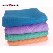 183 61cm Waffle Pattern Yoga Towel Fitness Bikram Hot Yoga Mat Non Slip  Blanket Exercise 9e6eda42f4612
