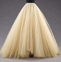 Jupon Enaguas de La Vendimia Larga Puffy Tul Vestido de Quinceañera Enagua de Crinolina Enagua Debajo de La Falda Enagua Mariage Femme