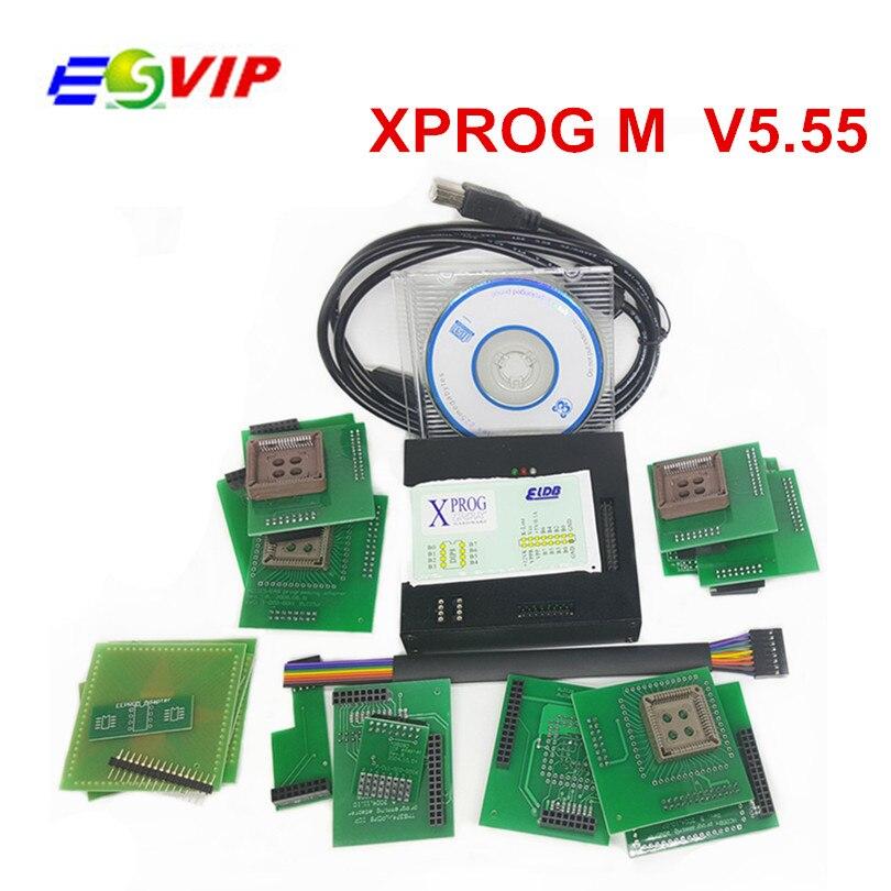 Car Repair Tools Car Diagnostic Cables & Connectors Dutiful New Model Xprog 5.84 Ecu Programmer V5.70 With All Adapter+dongle Xprog M Xprog V5.74 Best Price In Stock Xprog V5.55 At All Costs