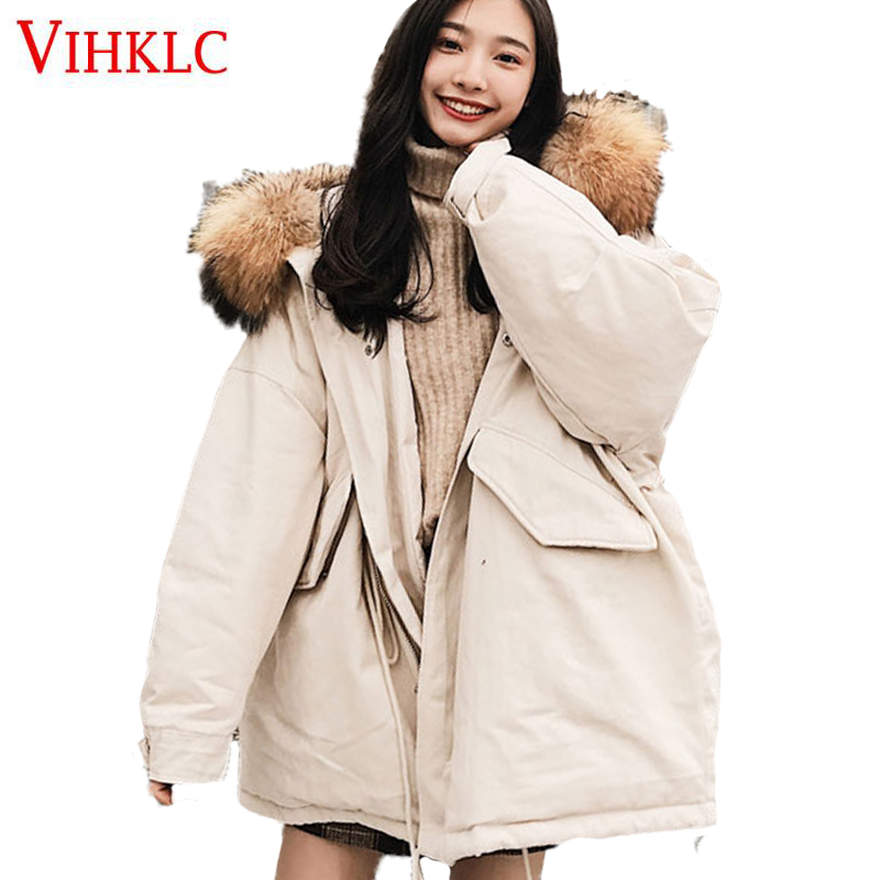 Vêtements Rembourré Femmes Coréens Manteau D'hiver saison Nouveau Marée 2018 black Abricot Apricot Court Femelle Anti Lâche Étudiants Z206 Parkas Coton xZqqvnPS0w