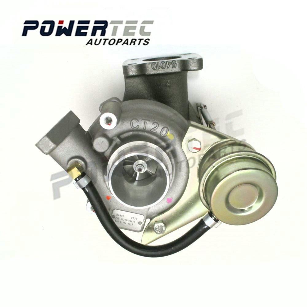 NEW 17201 54030 TURBOCHARGER CT20 turbine CT20WCLD 54030 For Toyota Landercruiser TD 2L T 63 KW