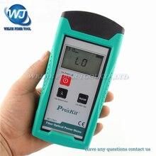 Proskit MT 7601 Glasvezel Power Meter Laser Fiber Optic Tester Optical Fiber Power Meter Automatische Identificatie Frequentie