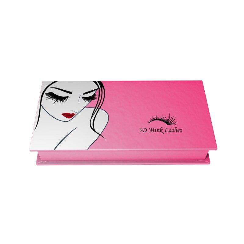 Mangodot Customize Storage Box 500 Pcs Cosmetic Magnetic Eye Lashes Cases Organizer Color False Eyelashes boxes Makeup Tools