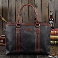 Laptop Bag 14.1 Inch Briefcase Messenger Bag Water Repellent Computer Case Laptop Shoulder Bag Durable Tablet Sleeve Black,Brown