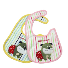 Infant Cartoon Bib Baby Three-layer Saliva Towel Bib Newborn Infant Children Eating Bib for 0-24 Months Baby Burp Cloths