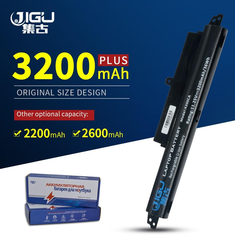JIGU 3Cells Laptop Battery A31LM2H A31LM9H A31LMH2 For ASUS For VivoBook F200CA F200M F200MA FX200CA R202CA X200CA X200MA