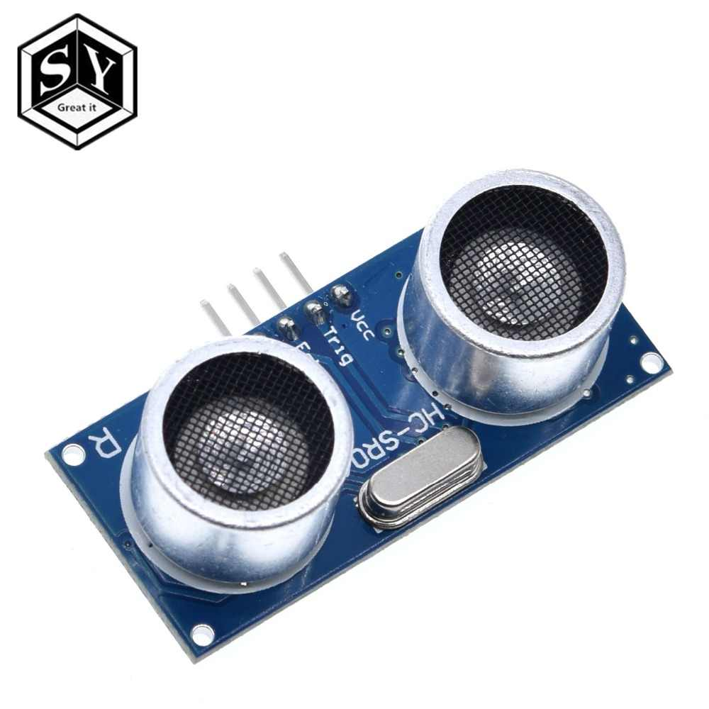 1 pces great it HC-SR04 hcsr04 ao sensor de distância do módulo HC-SR04 hc sr04 hcsr04 do sensor ultrassônico da onda do mundo para arduino