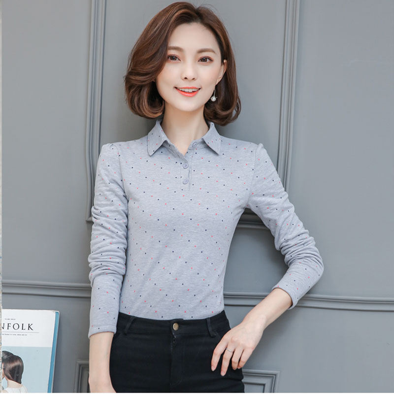 BOBOKATEER Long Sleeve Tshirt Women T Shirt Cotton Tee Shirt Femme Solid Casual T-shirt Women Tops 6