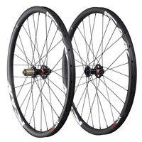 Лидер продаж 27.5er MTB колеса углерода Китай 650B Горный велосипед колесная 30 мм довод tubeless Ready 1526 г 32 h UD matt 27.5er 30C