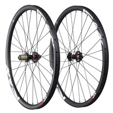 Hot sale 27 5er mtb carbon wheels China 650B mountain bike wheelset 30mm clincher tubeless ready
