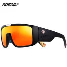7bb8997c42037 KDEAM Escudo Enorme Dragão Óculos De Sol Dos Homens Lente Única Steampunk Óculos  Óculos Com Caixa