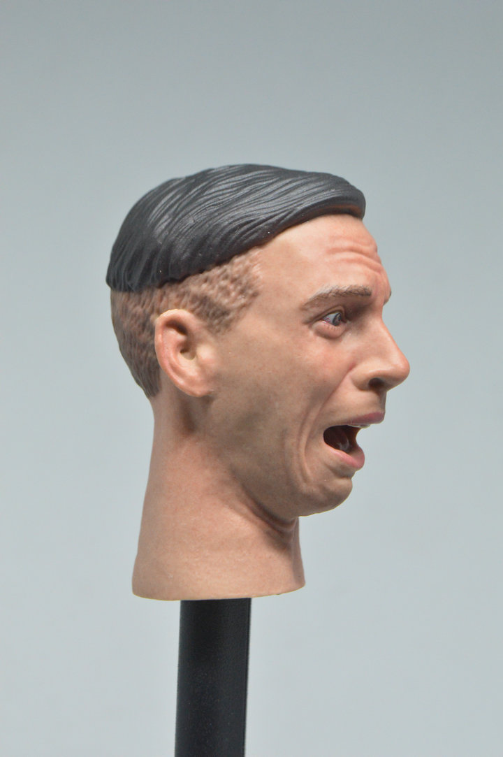 1//6 Facepool Figure FPD001 Youth Male Head Sculpt PVC Head Carving w// Expression