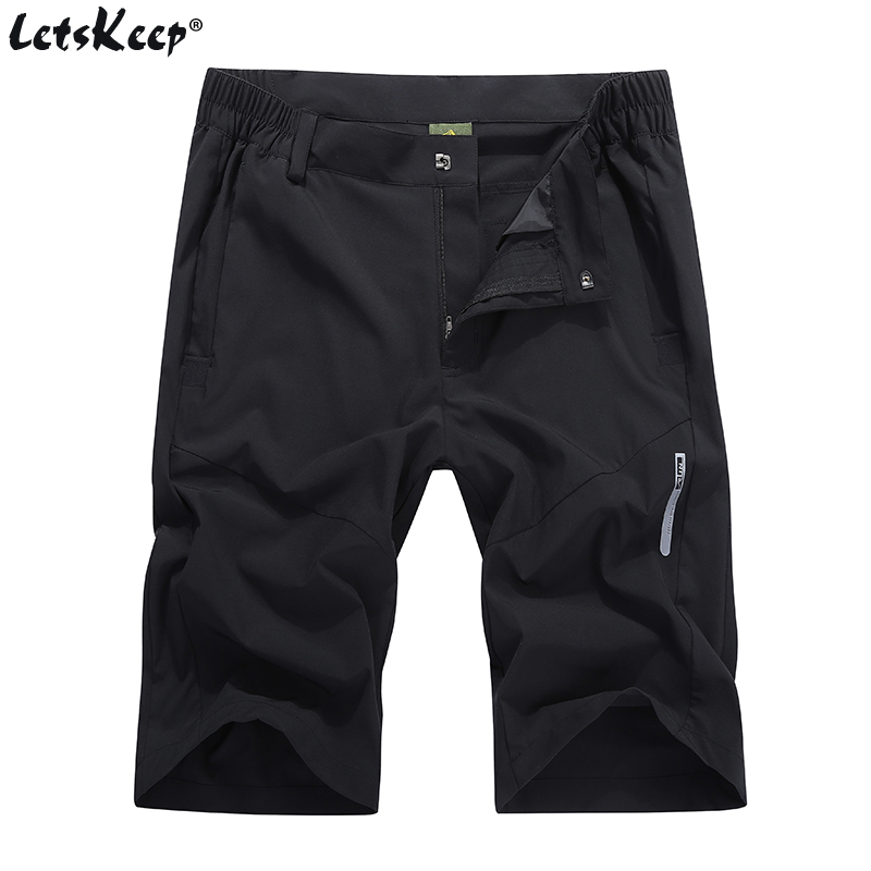 2018 LetsKeep military cargo shorts men summer thin short pants Quick Dry Plus size elastic shorts with belt M-4XL , A461 ...
