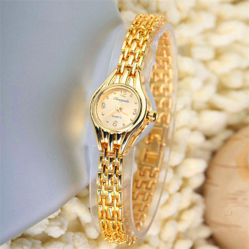 2016 New Brand Luxury Gold Watches Women Fashion Women's Bracelet Clock Dress Ladies Quartz Wrist Watch Women Relogio Feminino luxury brand gold bracelet womens watches fashion casual quartz ladies wrist watch relogio feminino