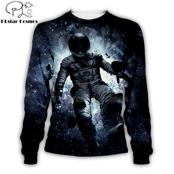 armstrong space suite 3d Hoodies/Sweatshirt/vest/Zipper Unisex Women Casual Cute coseplay astronaut spacesuit -13 1