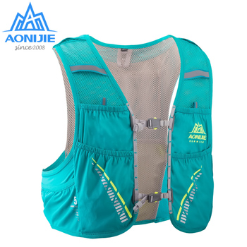 AONIJIE C933 Trink Pack Rucksack Rucksack Tasche Weste Harness Wasser Blase Wandern Camping Lauf Marathon Rennen Klettern 5L