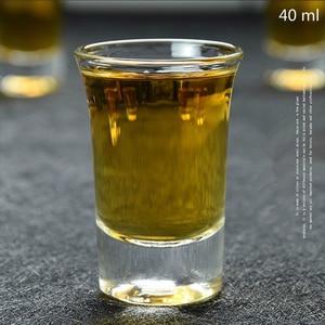 Image 3 - 6 Pcs סט משקאות רוח כוס ליטר Copo Shot זכוכית מיני יין משקפיים Verre Bicchieri Vetro Copas דה Vidrio אבדון tete De מורט Vasos