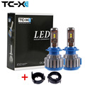 TC-X For Volkswagen H7 LED Headlight Kit with Adapter fitting for Golf 6 Plug&Play Car headlights 6000k Cold White Super Bright
