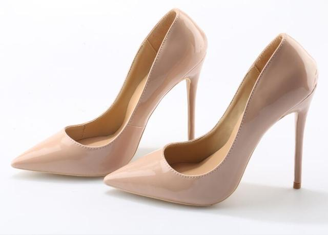 Nude pointed toe pumps Nude Photos 39