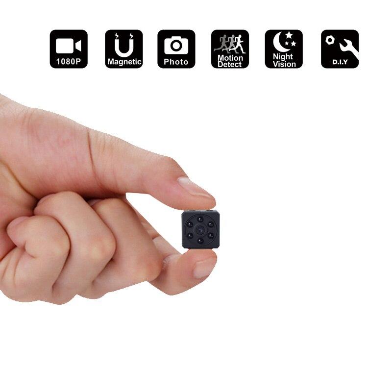 HD 1080 p Mini Kamera DVPortable HD Covert Körper Cam mit Nachtsicht und Motion Erkennung, indoor/Outdoor Kleine Sicherheit Carmera