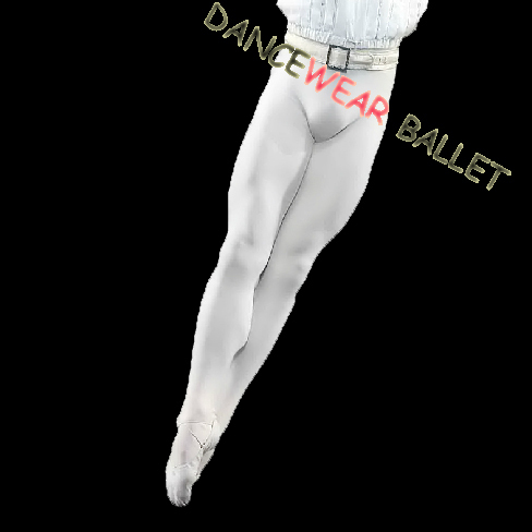 New 2017 Free Shipping Black White Nylon Spandex Footed Dance Ballet Tights Men For Sale
