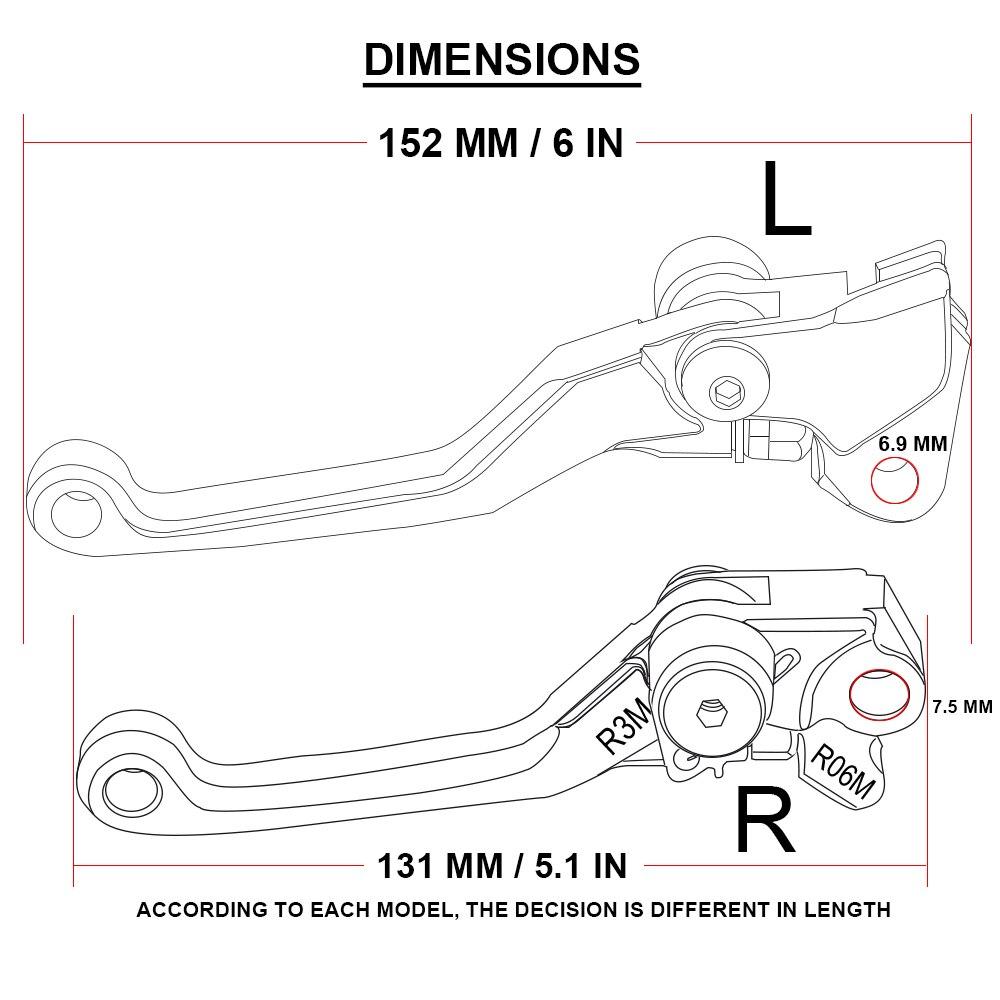 2014 Kawasaki Kx250f Wiring Diagram Detailed Schematics Er 5 Cnc Pivot Foldable Clutch Brake Lever Dirt Bike Off Road For Zx6rr