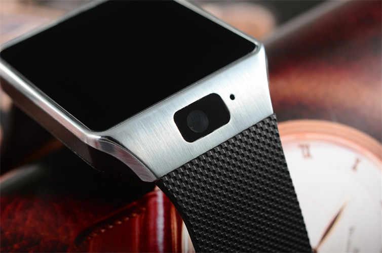 ad0dd7afa ... New Smartwatch Intelligent Digital Sport Gold Smart Watch DZ09 Pedometer  For Phone Android Wrist Watch Men ...