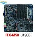 ITX-M50 VER: 1.5 Безвентиляторный AIO материнская плата intel J1900 Bay Trail quad core Материнская Плата Mini Itx wifi/3 г/2 * RS232 1 * RTL 8111E