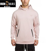 2017 Mens Hoodies Fashion Casual Hip Hop Loose Pullover Gyms Fitness Hooded Jacket Cotton Brand Sweatshirts