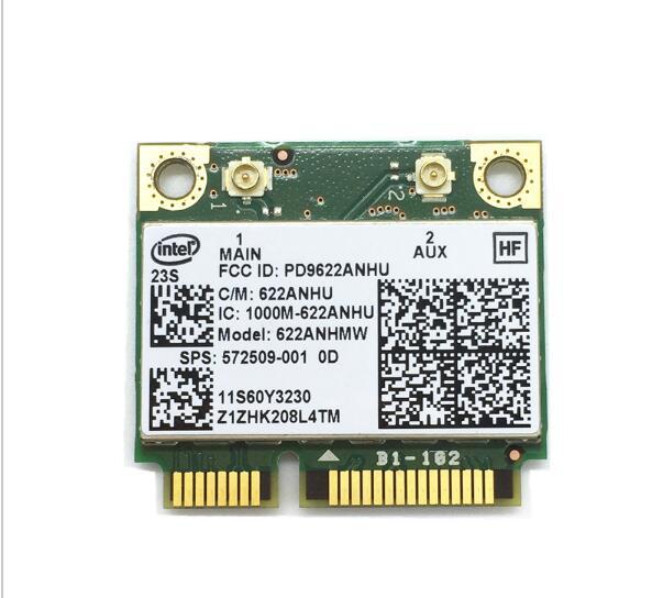 Intel Advanced-N 6200 6200AN 622ANHMW \ Half Mini PCIe 300M WLAN Card SPS:572509-001 For 2540P 4420S 4720S 6440B 6540B 8440P