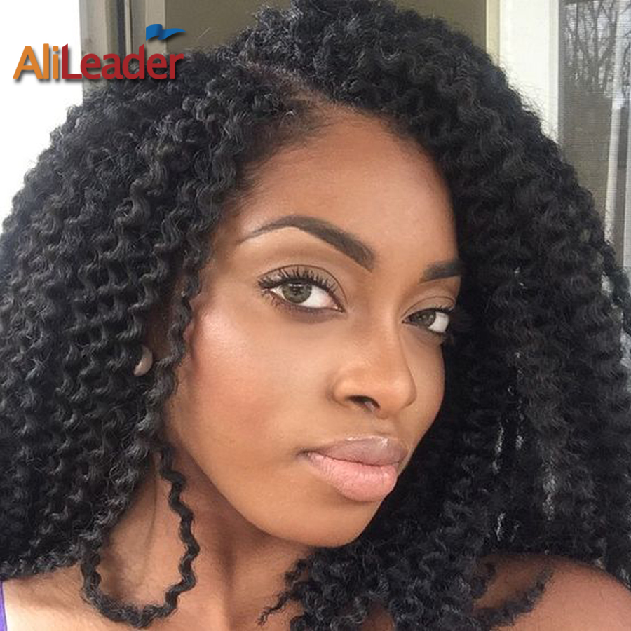 22Inch Curly Crochet Hair Pure 6 Colors 24Root Synthetic ...