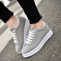 2018 Fashion Women Vulcanized Shoes Sneakers Ladies Lace up Casual Shoes Breathable Walking Canvas Shoes