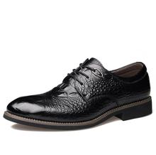 2016 Man Flat Designer Classic Men Dress Shoes Genuine Leather Black Brown Coffe Wingtip Italian Formal Oxfords 2588# Size38-44