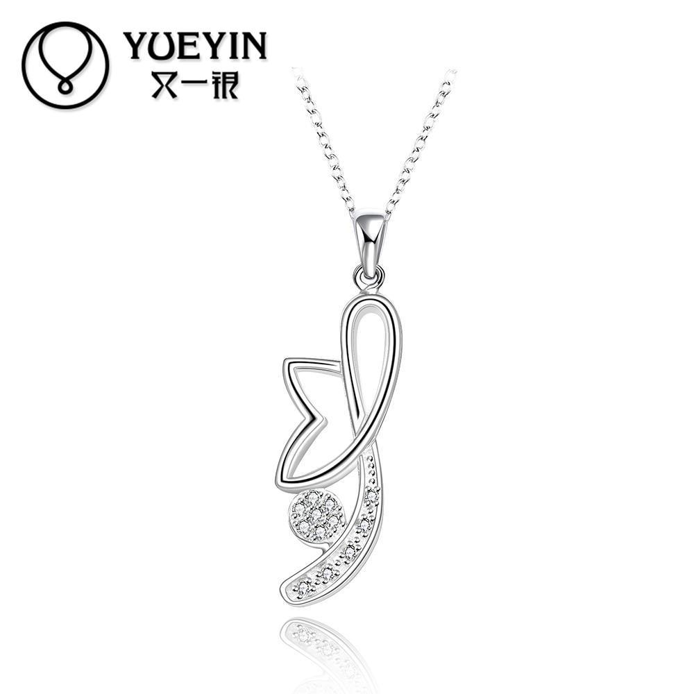 09af71045e81 Diseño simple corazón neckalce moda joyería collares con colgante de  cristal para las mujeres boda joyería con