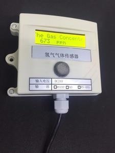 Image 2 - Hydrogen gas Concentration sensor transmitter H2 gas sensor online test 485 232 0 5v switching value 4 20MA plc modbu 0 1000ppm