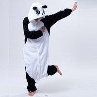 Cute Cartoon Kungfu Panda Pajamas Adult Flannel Long Sleeve Hooded Women S Pajamas Winter Warm Pajamas