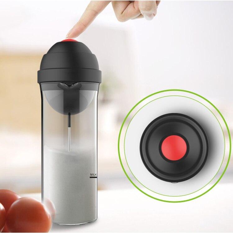 Cafeteras Nespresso Best Electric <font><b>Coffee</b></font> Milk Frother Foamer Steamer Machine Home Fancy Drink Foaming Mixer Dc3v 0.75w 400ml